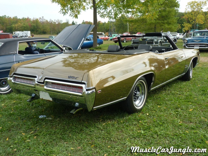 1969 Buick Wildcat Convertible Rear Right Side