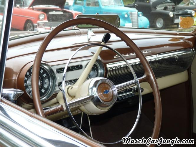 1953 Chevy Bel Air Dash