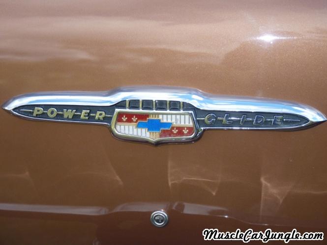 1953 Chevy Bel Air Trunk Emblem