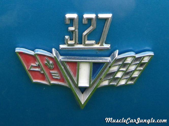 1967 Camaro RS 327 Emblem