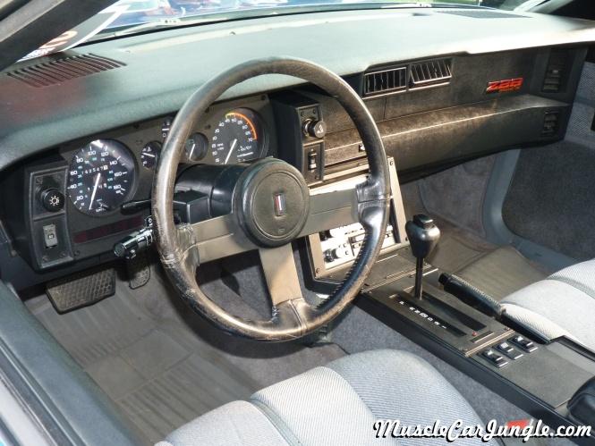 1989 IROC-Z Camaro Dash