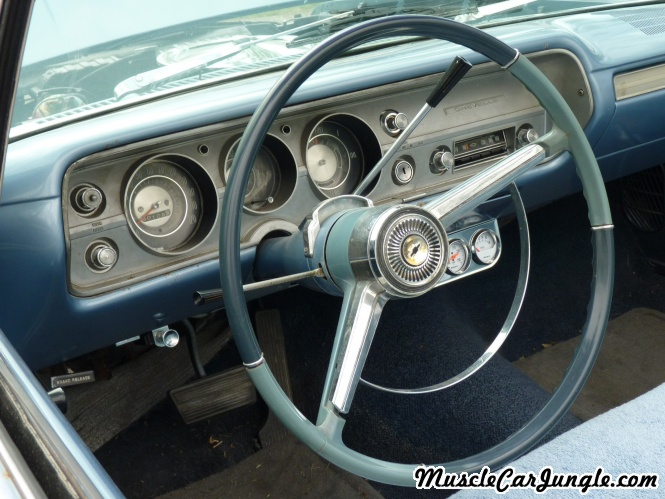 1965 Chevelle Convertible Dash
