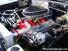 1967 327 Chevelle Engine
