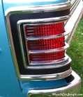 1967 Chevelle Malibu 396 Tail Light