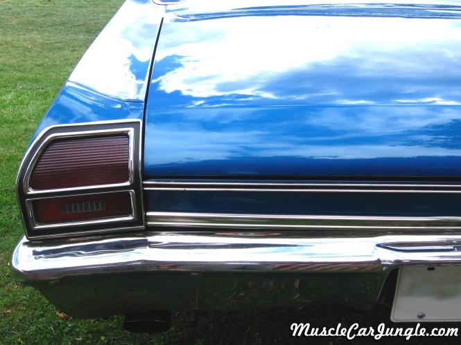 1969 chevelle ss 396 tail light