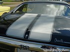 1971 Chevy Chevelle SS454 Trunk Stripe