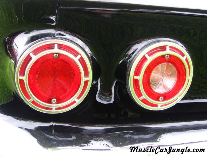 1962 Corvair Monza Spyder Taillights