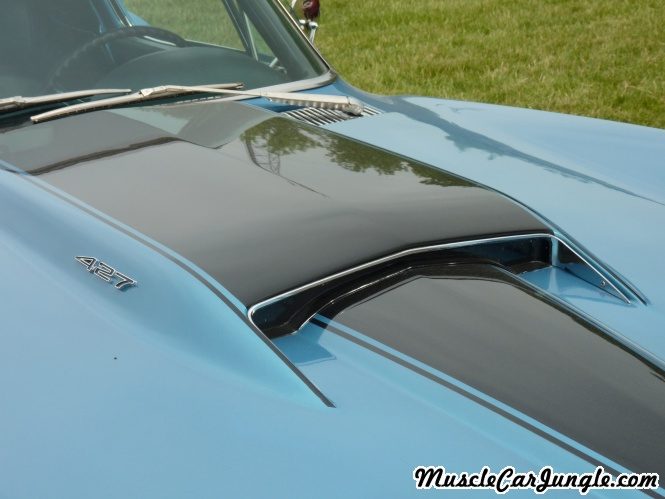 1967 427 Corvette Coupe Hood Scoop