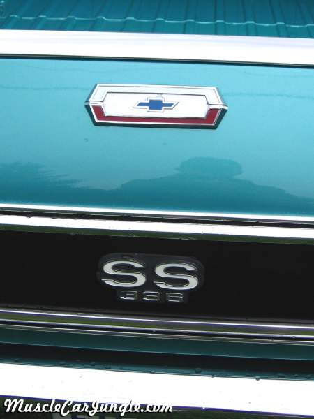 1970 El Camino SS 396 Tailgate Emblem