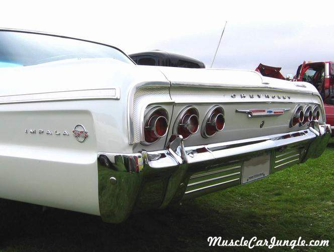 Ford Muscle Cars >> 1964 SS Impala Rear