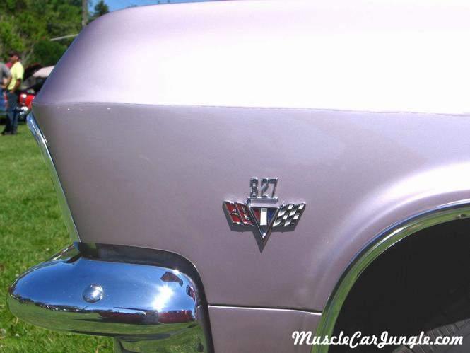 1965 Impala Ss327 Emblem