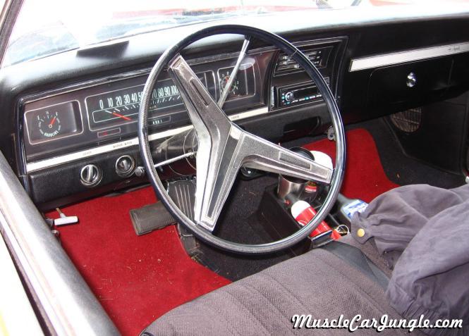 1968 Impala 327 Interior