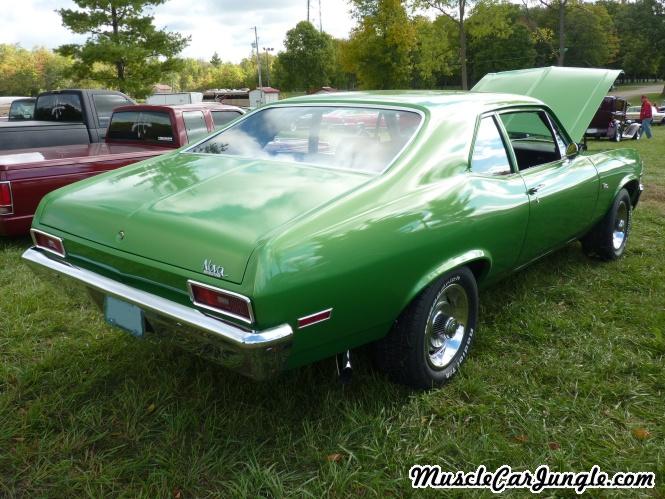 1970 Chevy Nova Rear Right