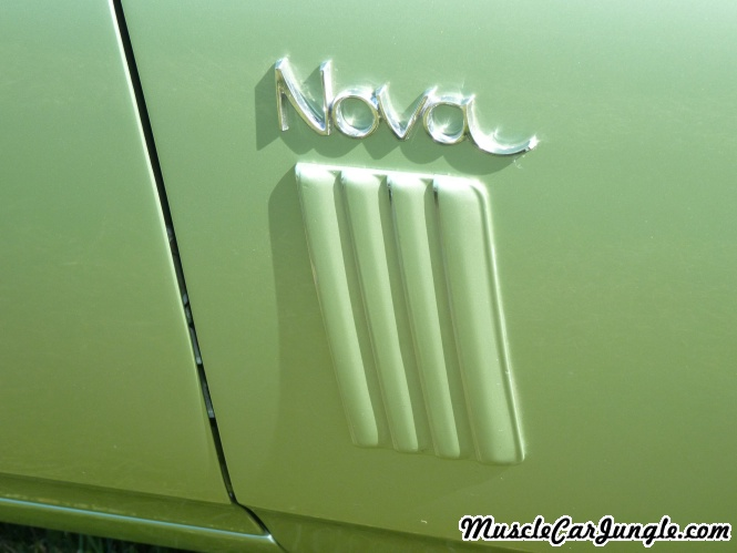 1970 Nova SS 396 Fender Vents