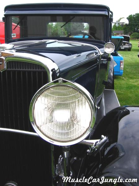 1930 Nash Eight Headlight