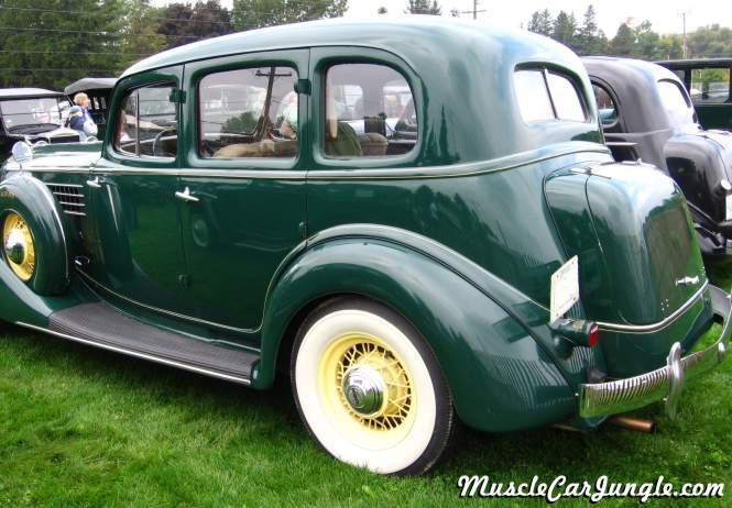 1935 Auburn 851 4 Door Left Side