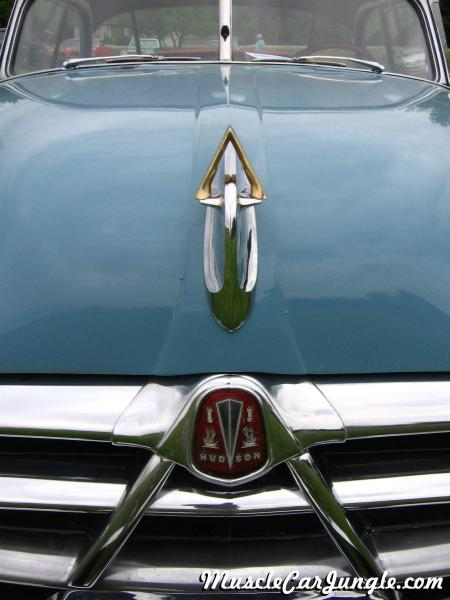 hudson hornet hollywood hood ornament