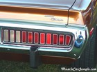 1974 Blown Charger Tail Lights