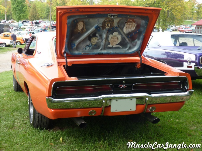 Dukes Of Hazzard General Lee Rear