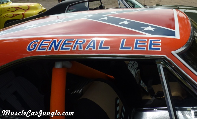 dukes  hazzard general lee roof