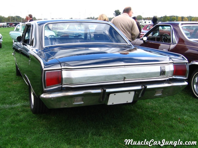 1967 Dodge Dart GT 273 Rear