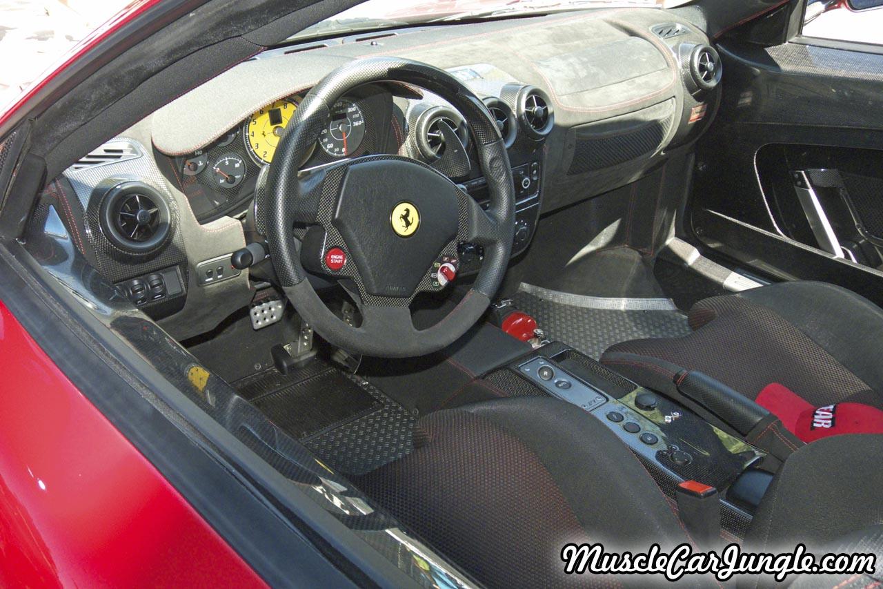 2008 Ferrari 430 Scuderia Interior