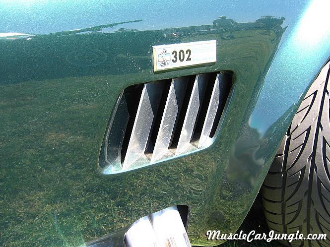 Ford Muscle Cars >> Ac Cobra Fender Vent
