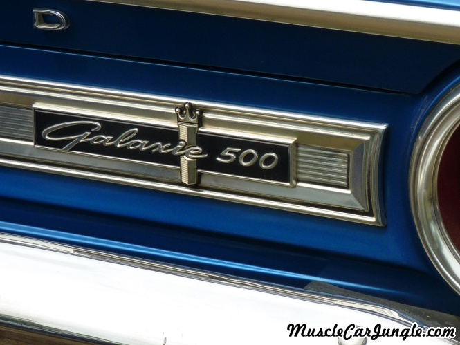 1964 Ford Galaxie 500 390 Rear Emblem