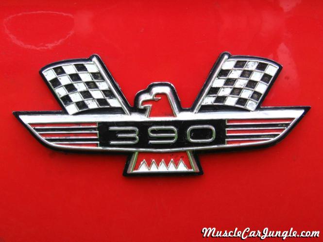 1964 Galaxie 500 Xl 390 Emblem