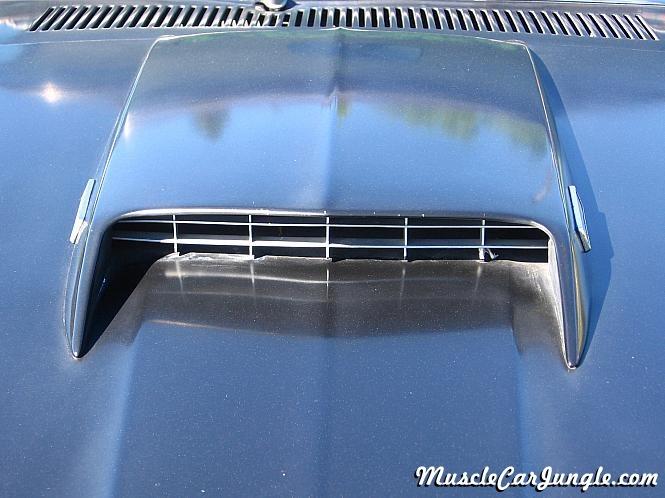 1969 Mustang Mach 1 Hood Scoop