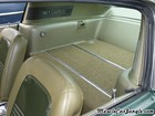 1967 Fastback Mustang Rear Seats