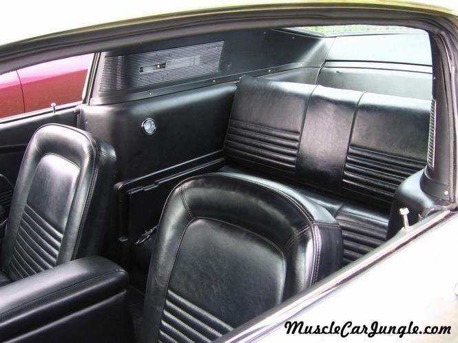 Dodge Challenger Interior >> 1967 Mustang Fastback Interior Rear