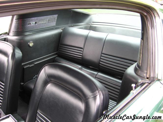 1967 Mustang Gt Interior Rear