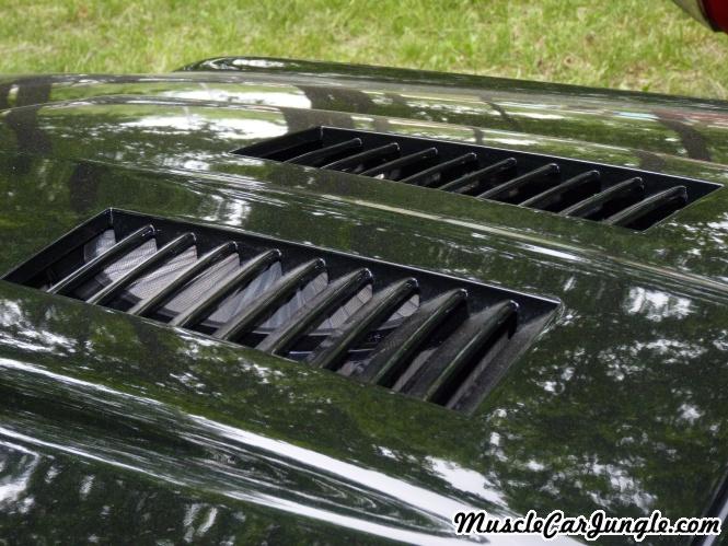 1968 Mustang Gt Cs Hood Louvers
