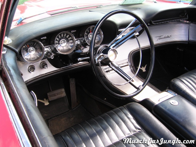Dodge Challenger Convertible >> 1962 Thunderbird Convertible Dash