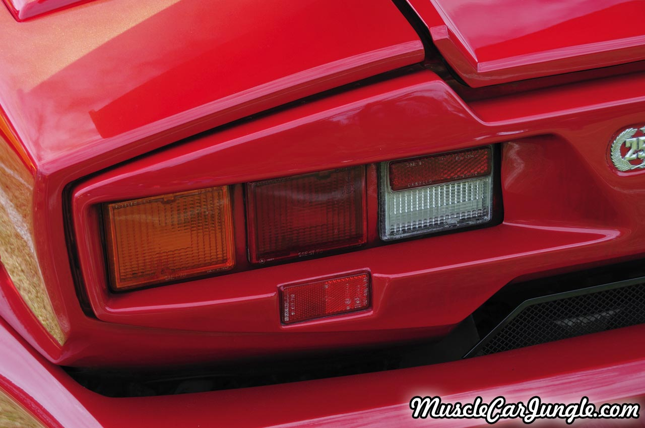 Countach 25th Anniversary Tail Lights