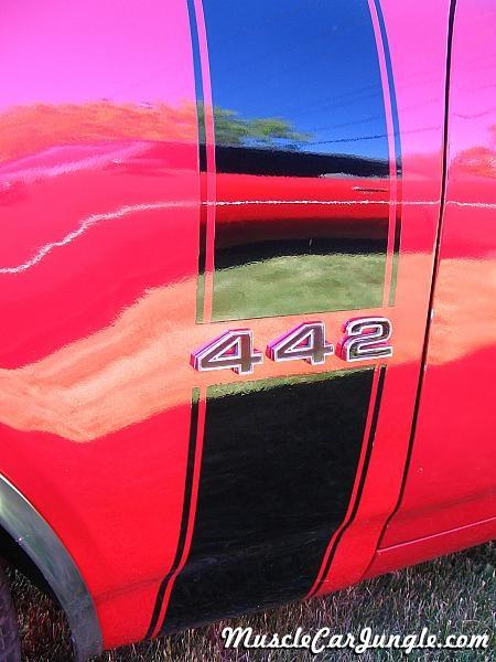 Camaro Trans Am >> 1968 442 Convertible Fender Stripe