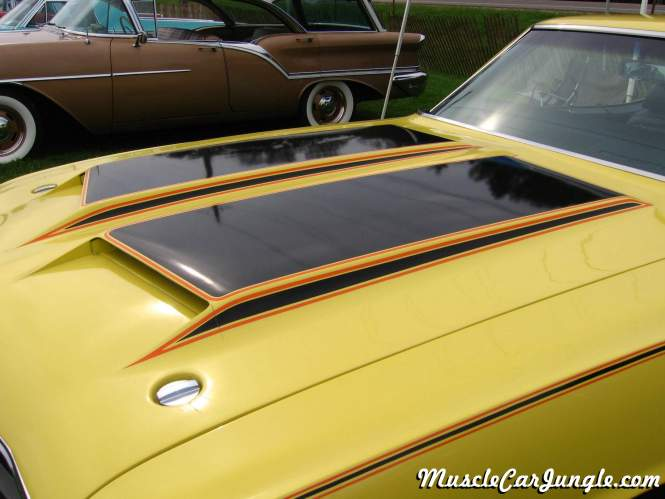 Ford Muscle Cars >> 1970 Olds Cutlass Rallye 350 Hood Scoops