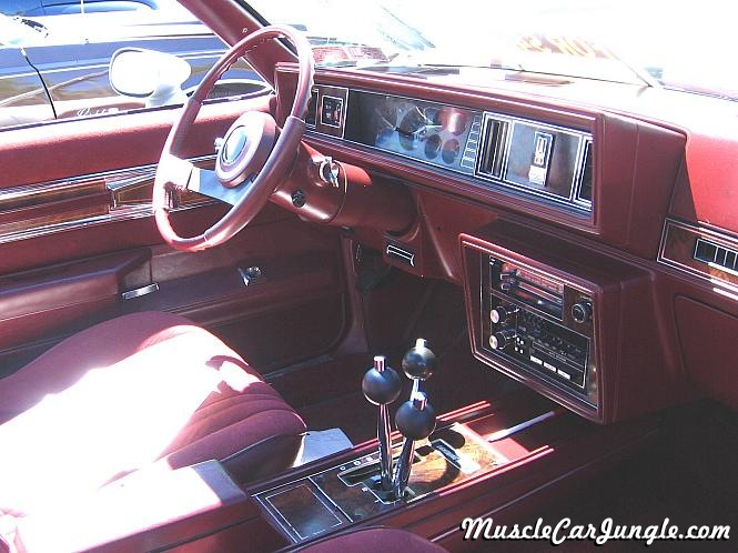 1984 Hurst Olds Interior