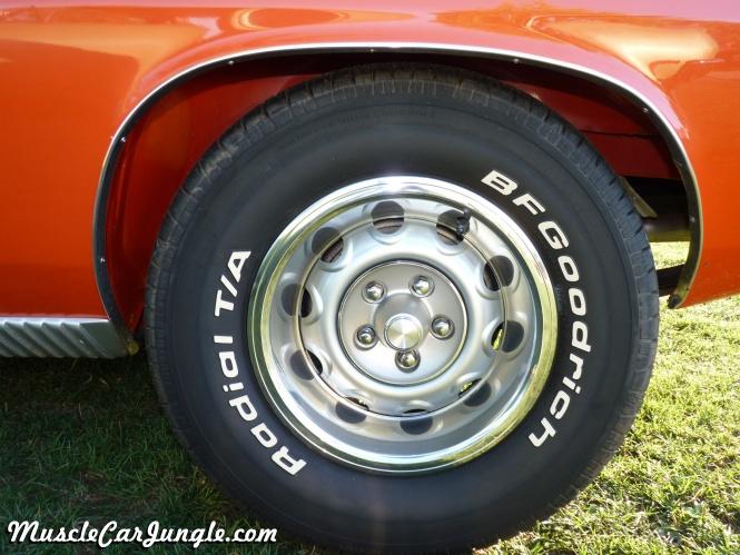 1970 383 Cuda Wheel