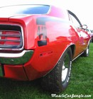 1970 440 Cuda Six Pack Rear Side