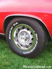 1970 440 Cuda Six Pack Wheel