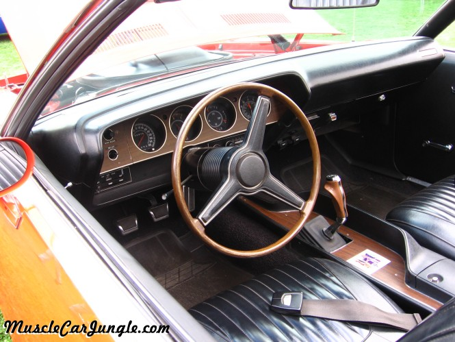 1971 Barracuda 340 Convertible Dash