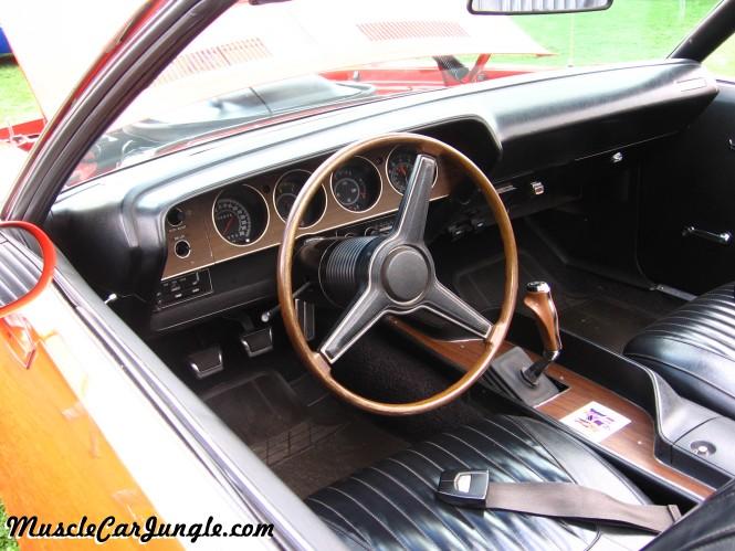1971 Barracuda 340 Convertible Dash