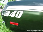1973 Plymouth Duster 340 Decal