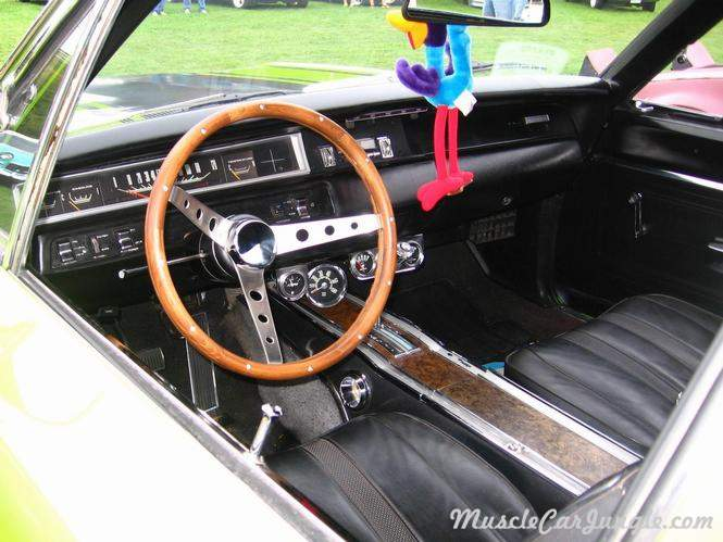 1968 Plymouth Roadrunner Interior