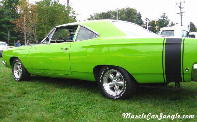 1968 Plymouth Roadrunner Rear Side