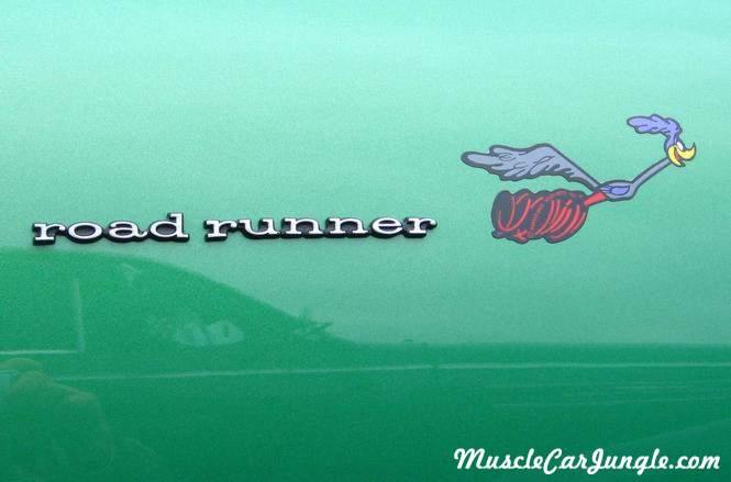 1969 Roadrunner 440 6bbl Emblem