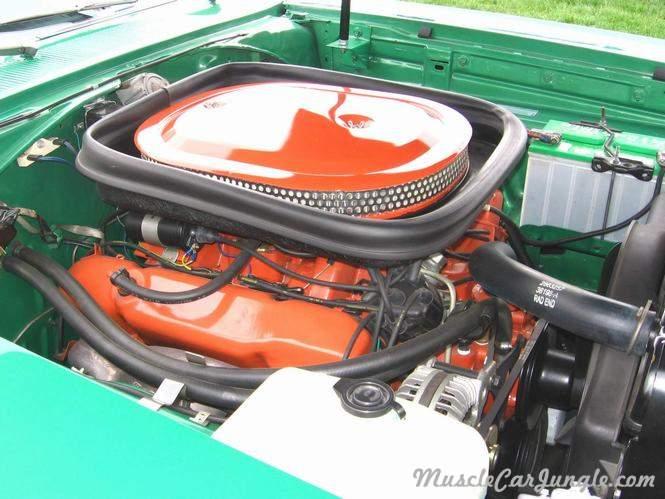 1969 Roadrunner 440 6bbl Engine