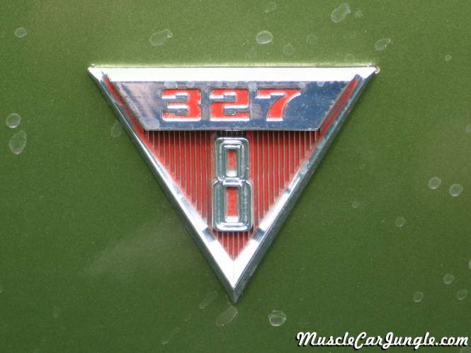 Ford Muscle Cars >> 1968 Pontiac Beaumont 327 Emblem